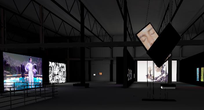 "Galerie virtuelle 3D - ""METAMORPHOSIS 2020"", Elektra x Arsenal art contemporain Montréal"